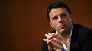 Matteo Renzi, alors maire de Florence (Italie), lors d'un meeting du Parti démocrate à Turin, le 6 décembre 2013. (GIORGIO PEROTTINO / REUTERS)