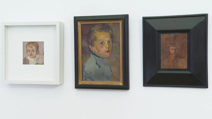 Peintures de Giovanni Giacometti (France 3 PACA)