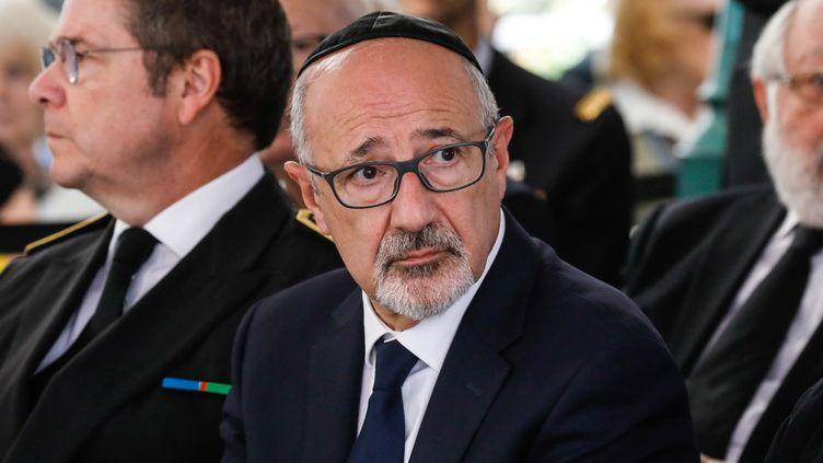 Francis Kalifat, le 22 juillet 2018 à Paris (MAXPPP)