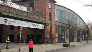 Le centre de vaccination Berlin Treptow. Il y en 442 comme celui-cien Allemagne. (LUDOVIC PIEDTENU / RADIOFRANCE)