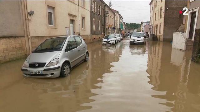 Meurthe-et-Moselle : la commune de Longuyon touchée par les inondations