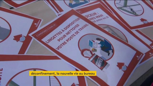 Coronavirus : le déconfinement va bouleverser la vie au bureau