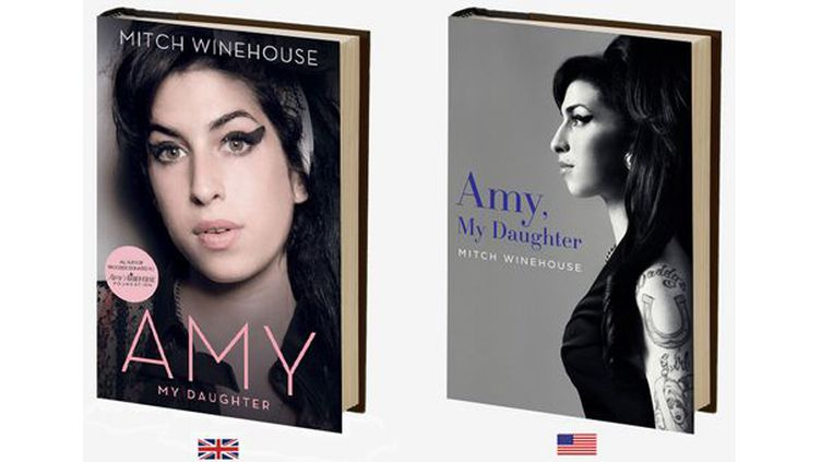 La bio d'Amy Winehouse, versions britannique et américaine  (Site officiel d'Amy Winehouse)
