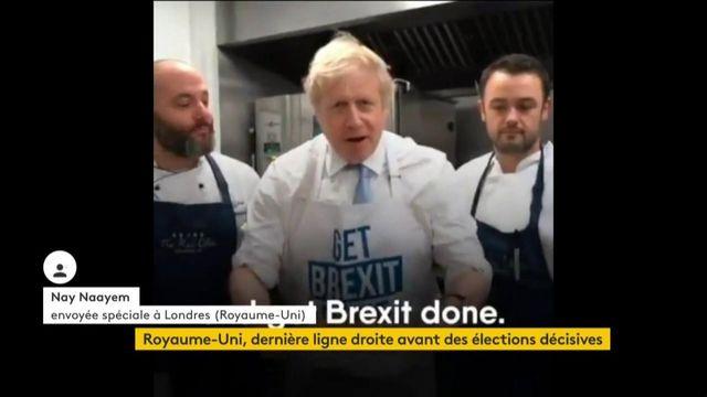 Royaume-Uni : Boris Johnson donne de sa personne à la veille des législatives