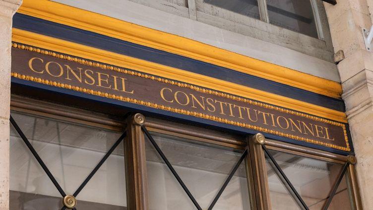 Les locaux du Conseil constitutionnel, le 5 juillet 2020 à Paris. (RICCARDO MILANI / HANS LUCAS / AFP)
