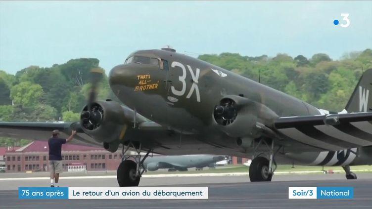 Un C-47 restauré (France 3)
