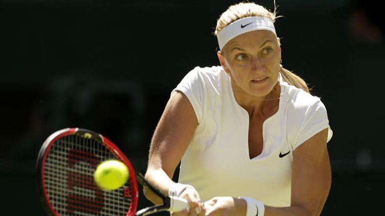 La joueuse tchèque Petra Kvitova