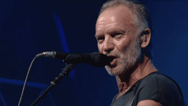 Concert de Sting à Jazz in Marciac