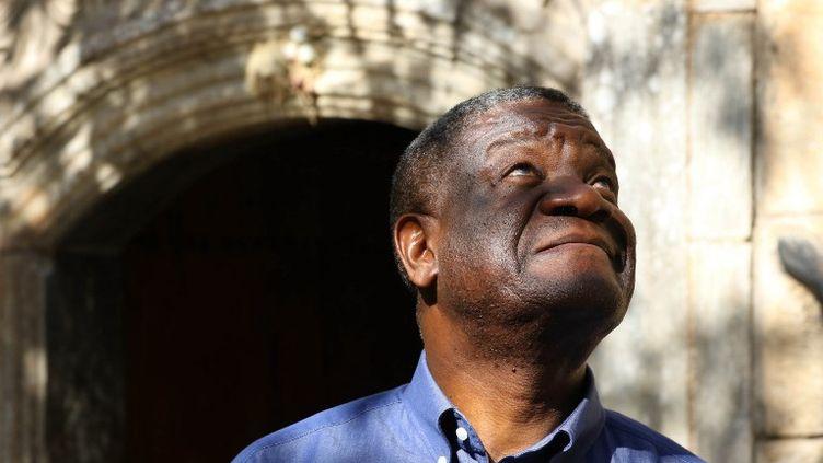 Denis Mukwege, le 24 juin 2018, à Dohuk, en Irak. (SAFIN HAMED / AFP)