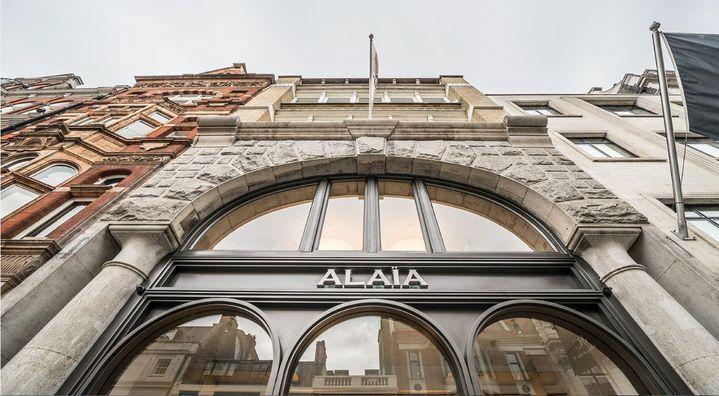 Boutique Alaïa à Londres, avril 2018  (Courtesy of Alaïa)