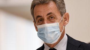 L'ancien président de la République, Nicolas Sarkozy, le 10 décembre 2020 à Paris. (BERTRAND GUAY / AFP)