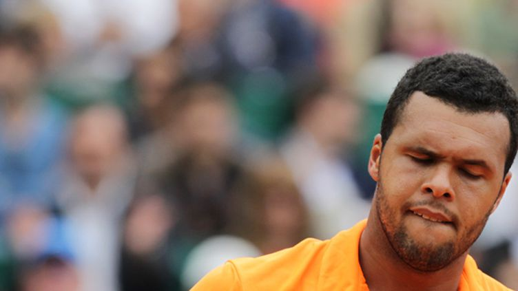 Jo-Wilfried Tsonga aura fort à faire à Madrid (JEAN CHRISTOPHE MAGNENET / AFP)