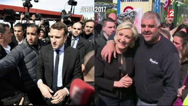Amiens : retour chez Whirlpool pour Emmanuel Macron