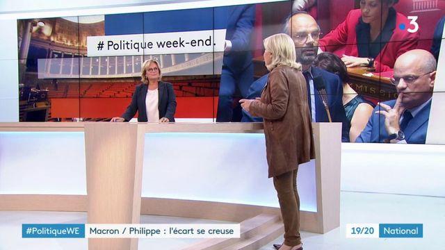 Comment expliquer l'écart de popularité entre Emmanuel Macron et Édouard Philippe?