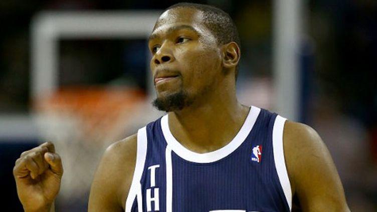 Le joueur d'Oklahoma, Kevin Durant