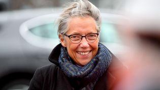 Elisabeth Borne, ministre des Transports, à Saint-Martin-la-Porte, le 1er février 2019. (JEAN-PIERRE CLATOT / AFP)