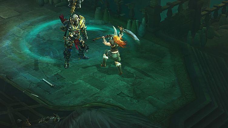 """Capture d'écran du jeu """"Diablo III"""". (ACTIVISION-BLIZZARD)"""
