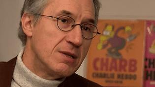 Gérard Biard, le rédacteur en chef de Charlie Hebdo  (France 3 / Culturebox capture d'écran)