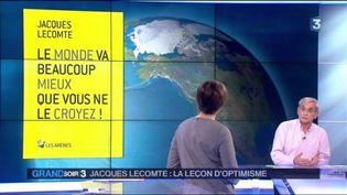 Jacques Lecomte et son livre Le monde va beaucoup mieux que vous ne le croyez (France 3)