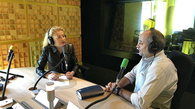 Emmanuelle Daviet et Richard Place (Antoine Ferreira / Radio France)
