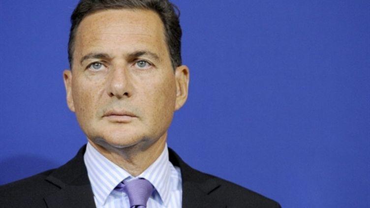 Eric Besson, ministre de l'Immigration, août 2010. (AFP - Bertrand Guay)