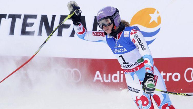 Le bonheur de Tessa Worley sur le slalom géant