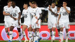 L'équipe de Lille a dominé le championnat de France cette saison. (FRANCOIS LO PRESTI / AFP)