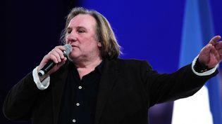 Gérard Depardieu en mars 2012.  (Alfred/Sipa)
