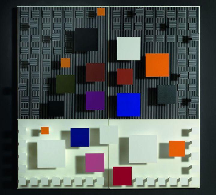 Jesùs Rafael Soto, Senegalés, 1988 - Dation, 2011, Centre Pompidou, MNAM-CCI / Georges Merguerditchian / Dist. RMN-GP  (Adagp, Paris 2013)