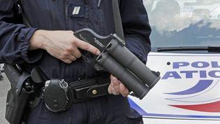 La police française est équipée de Flash-Ball depuis le début des années 2000. (AFP BERTRAND GUAY)