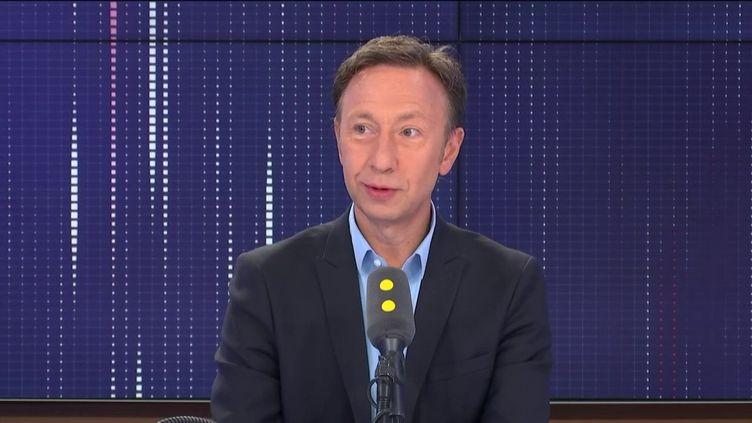 Stéphane Bern, invité de franceinfo le 20 septembre 2019. (FRANCEINFO / RADIOFRANCE)