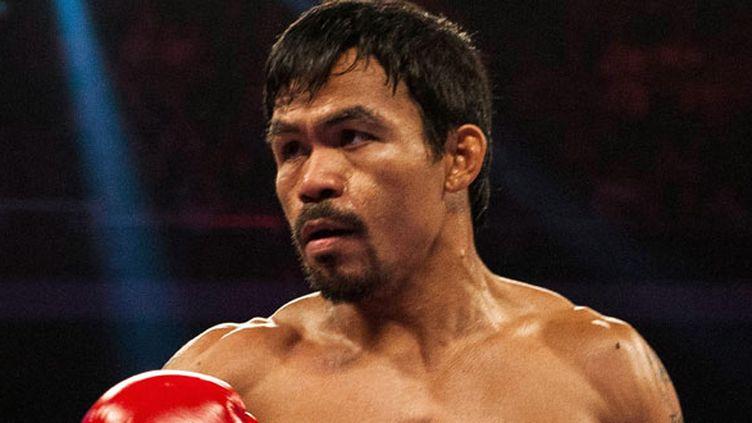 Le boxeur philippin Manny Pacquiao