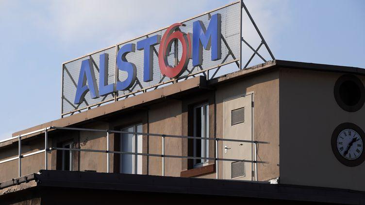 L'usine d'Alstom transport àReichshoffen (Bas-Rhin), le 19 décembre 2016. (PATRICK HERTZOG / AFP)