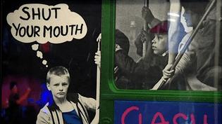 Né à la fin des années 70, le mouvement punk est riche d'images contestataires ou provocantes  (DR)