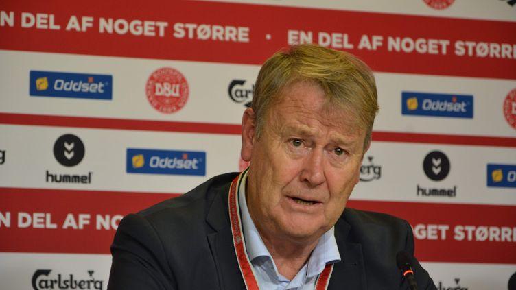 L'entraîneur danois Age Hareide (DAVUT COLAK / ANADOLU AGENCY)
