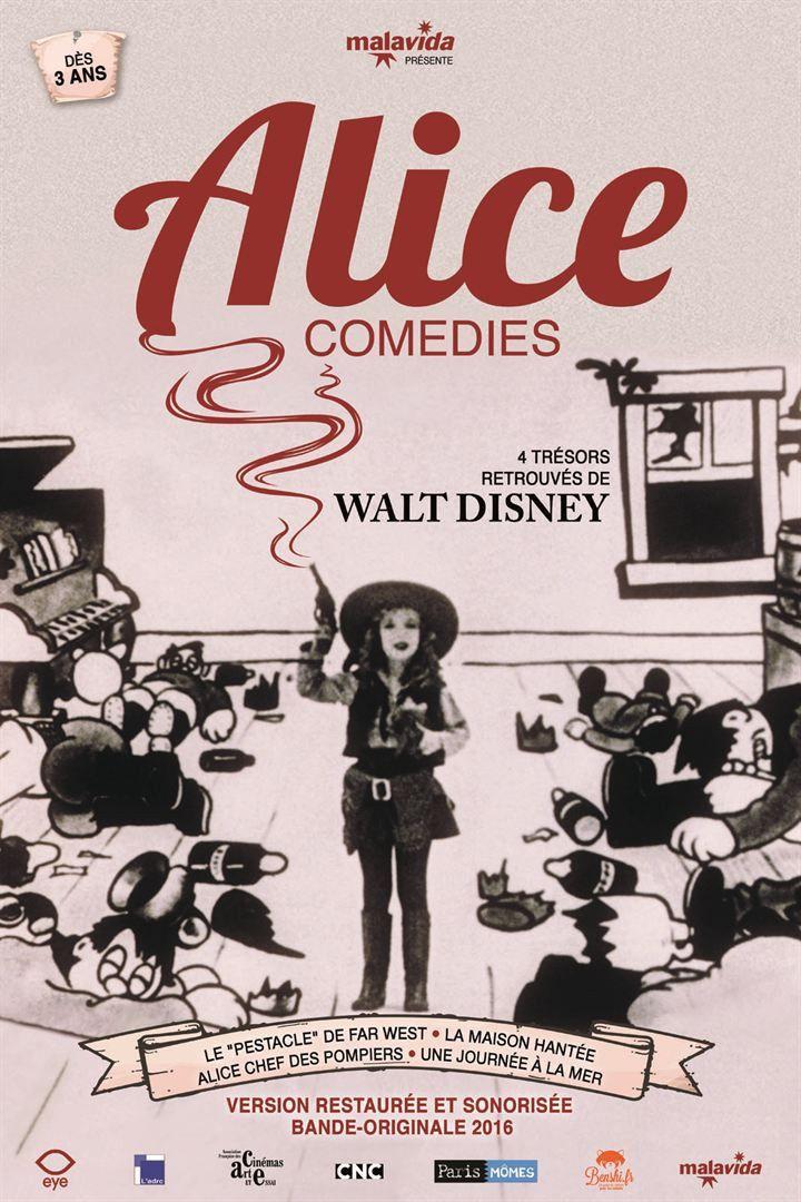"""""""Alice Comedies"""" : l'affiche  (Malavida)"""
