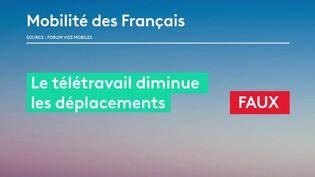 La mobilité sera l'un des principaux enjeux des élections municipales à venir. Une étude confirme lundi 2 mars que les déplacements des Français sont de plus en plus nombreux. (France 2)
