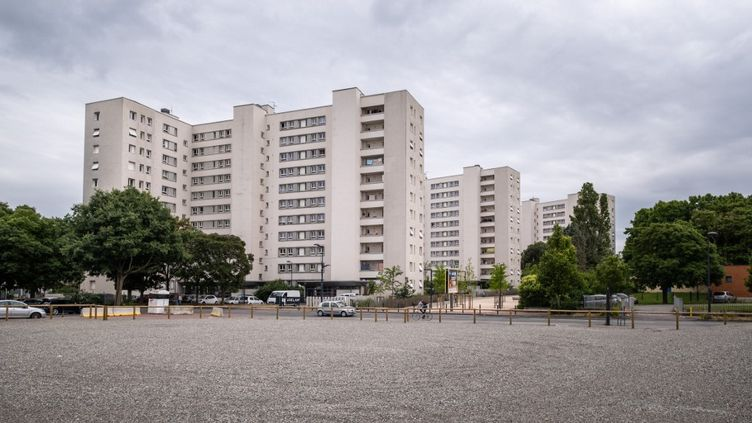 Le quartier Empalot à Toulouse (Haute-Garonne), le 11 juin 2020. (ADRIEN NOWAK / HANS LUCAS / AFP)