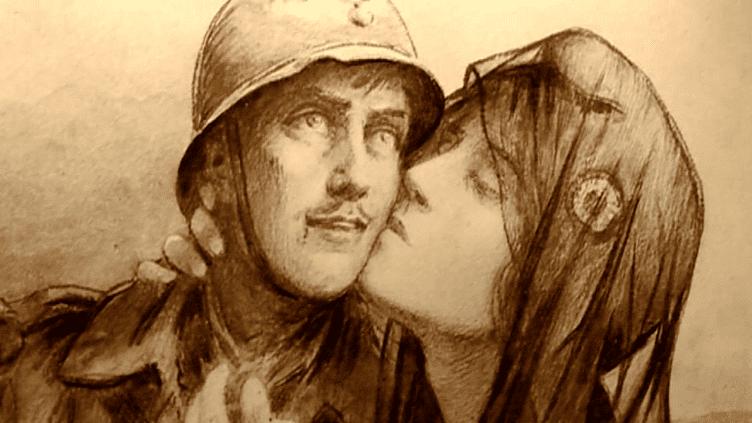 La Première Guerre Mondiale croquée par la presse de l'époque  (France3/Culturebox)