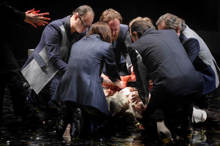 Jules César au théâtre du Vieux-Colombier (VINCENT PONTET)