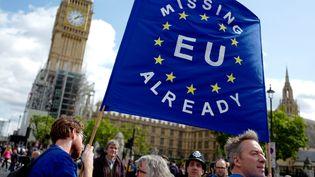 """""""L'UE nous manque déjà"""" : manifestation à Londres le 9 septembre 2017. (TOLGA AKMEN / REUTERS)"""