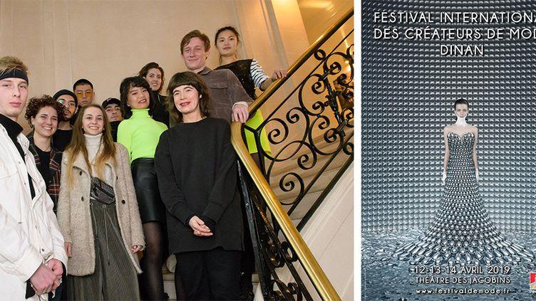Les 12 créateurs en lice au Festival des Créateurs de Mode de Dinan 2019  (Festival international des Créateurs de Mode Dinan 2019)