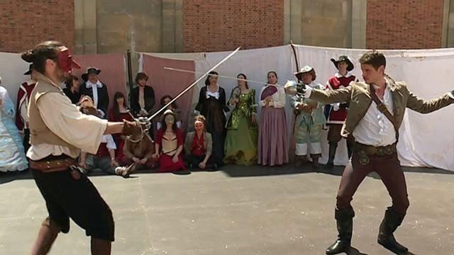 Coup d'envoi du Mois Molière à Versailles