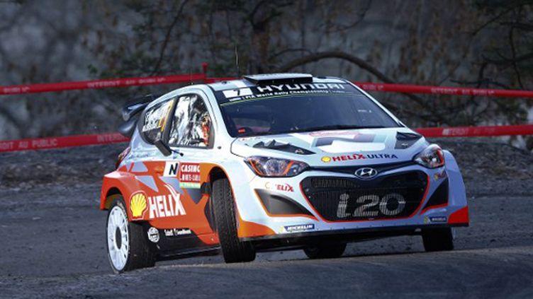 Thierry Neuville sur sa Hyundai (FRANCOIS BAUDIN / AUSTRAL)