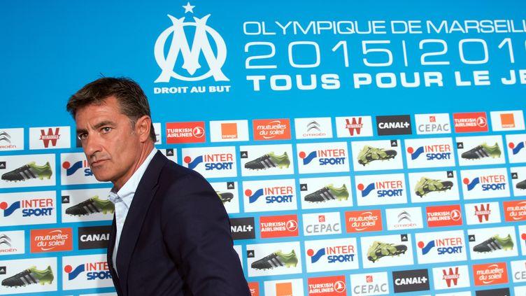 Michel n'a pas vraiment apprécié le contexte marseillais (BERTRAND LANGLOIS / AFP)