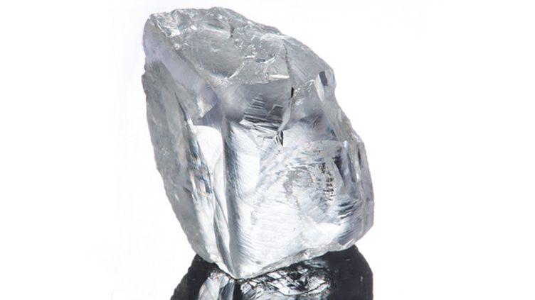 Le diamant blanc de 232 carats découvert dans une mine de Petra Diamonds.  (http://www.petradiamonds.com/)