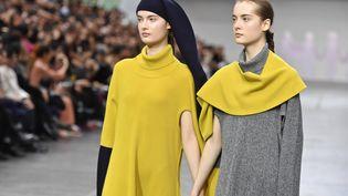 Issey Miyake automne-hiver 2020-21 à la Paris Fashion Week, 1er mars 2020 (JONAS GUSTAVSSON/SIPA USA/SIPA / SIPA USA)