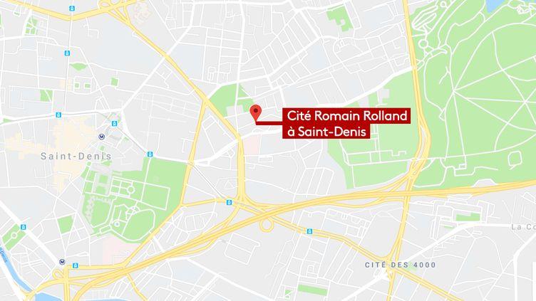 Cité Romain Rolland de Saint-Denis (93) (GOOGLE MAPS)