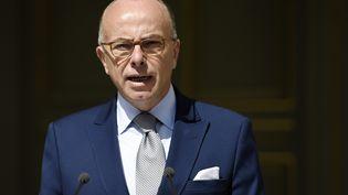 Le ministre de l'Intérieur, Bernard Cazeneuve, le 29 juillet 2015 à Paris. (LOIC VENANCE / AFP)