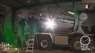 Le camion boule à facettes pour la Fête des Lumières (FRANCE 2)